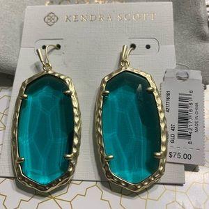 New Kendra Scott Gold Ella Earrings